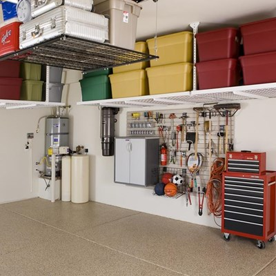 Sort out the garage and do a little DIY