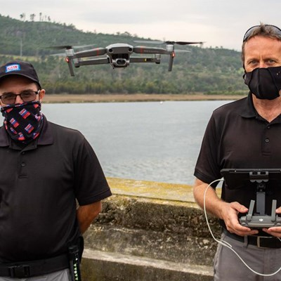 Well drone chaps!