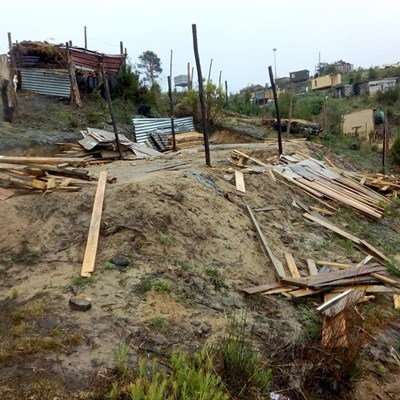 Demolished shacks lead to 2 protests in Knysna