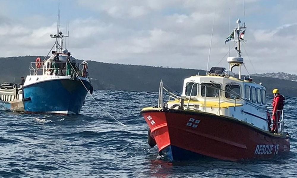 Vessel rescued off Herold's Bay