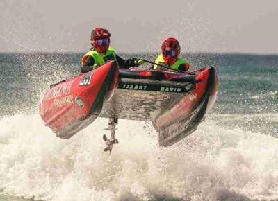 Aquila Safari Trans Agulhas rubber duck boat race