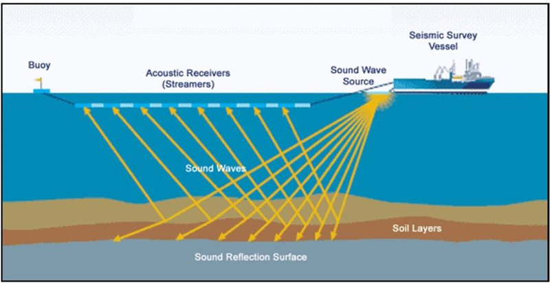 Oil and gas exploration seismic