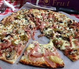 Best pizza in the world at Roadside Deli