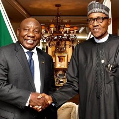 'Nigerians aren't criminals, Cyril Ramaphosa and Muhammadu Buhari'