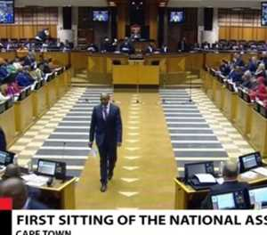 WATCH LIVE: Members of parliament sworn in