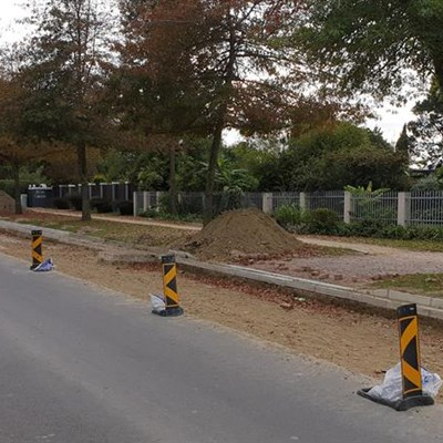 Caledon road works keep visitors away
