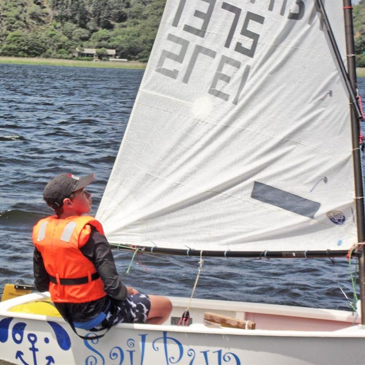 Wind provides testing sailing conditions