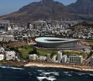 Cape Town's ailing World Cup Soccer stadium switches to rugby