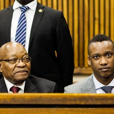 Zuma: Appearing in court in modern SA is much the same as it was during apartheid