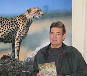 Author ready for the next wild journey