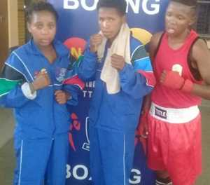 Boxing girl gets gold
