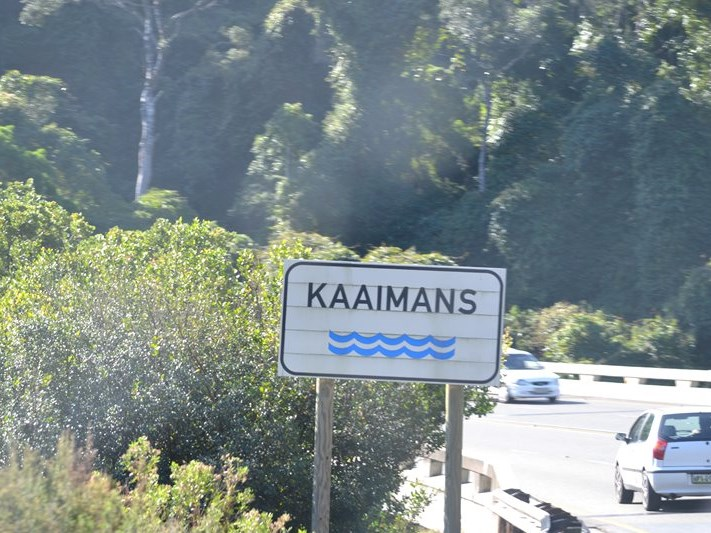 Accident in Kaaimans Pass