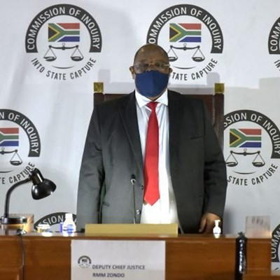 Zondo declines Bain's application to make affidavit public