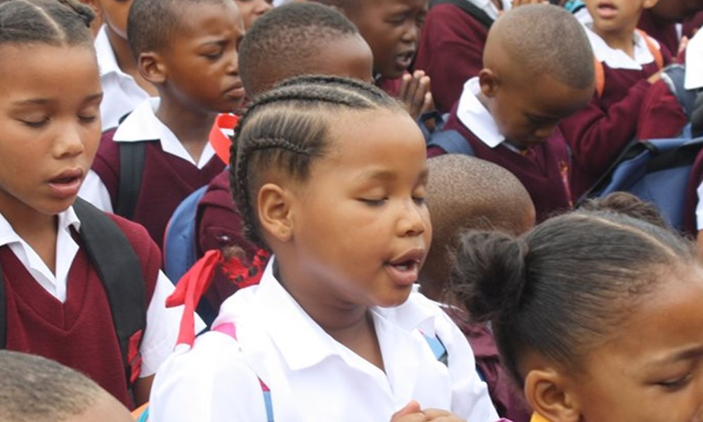 My 1st school day at St Pauls Primary