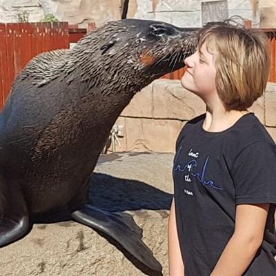 Rekords spat ná Minke akwarium besoek