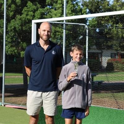 Tennis stars shine in PE