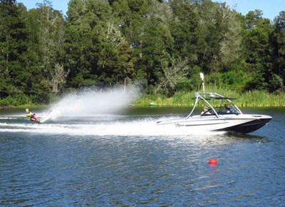 Rheenendal hosts waterski event
