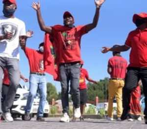 Police ready to step in during EFF's vaccine march in Pretoria