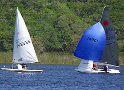 Sailing at George Lakes Yacht Club