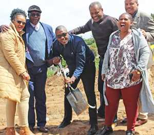 Hornlee housing project blossoms