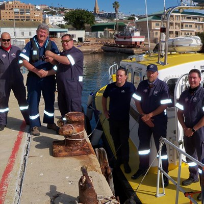 Much-needed boat arrives in town
