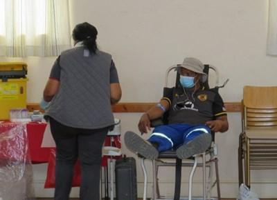 74 units blood donated