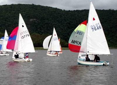 New Year Regatta at George Lakes Yacht Club