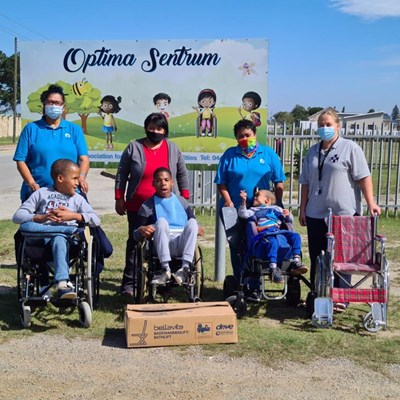 SPCA donates to the disabled