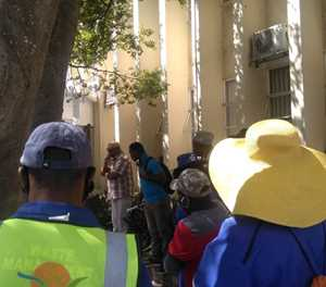 Workers demand PPE, danger pay
