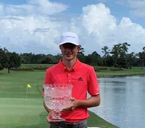 Sublime win for Schaper in Junior Players Champs