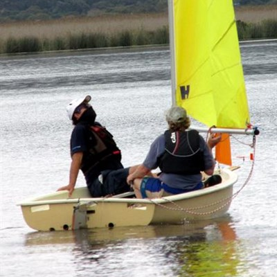 Only 1 race on weekend sailing menu