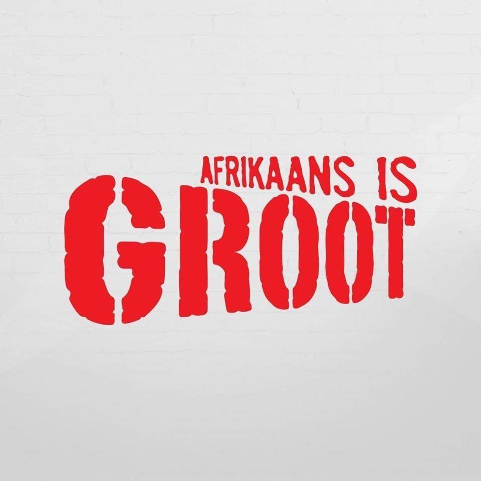 'Afrikaans is groot' kom see toe!