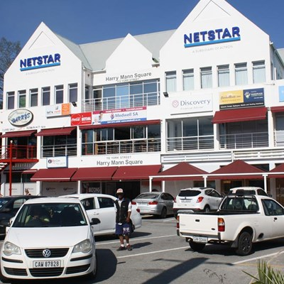 From doctor's rooms to bustling shopping centre