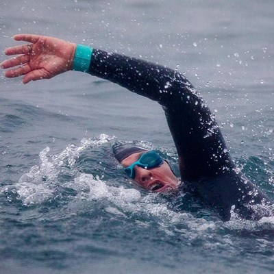 Local swimmer excels in gruelling ocean race