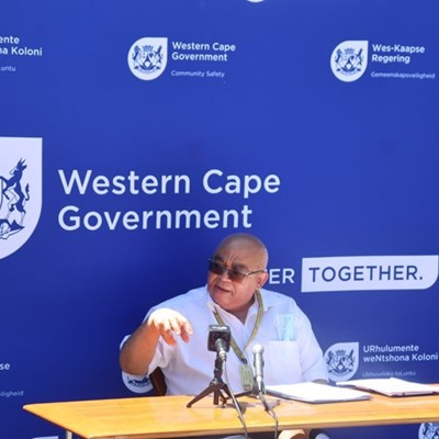 Fritz writes to Cele on convening and meeting with transversal extortion steering committee