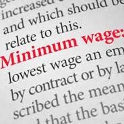 Nuwe nasionale minimumloon van 1 Januarie van krag