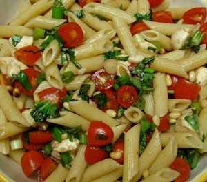 Recipe: Creamy corn and tomato pasta