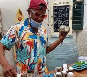Karoo-kombuis met rum