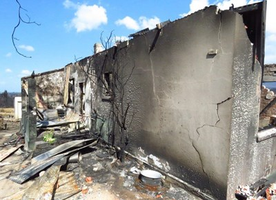 Farleigh: The Aftermath of the fire