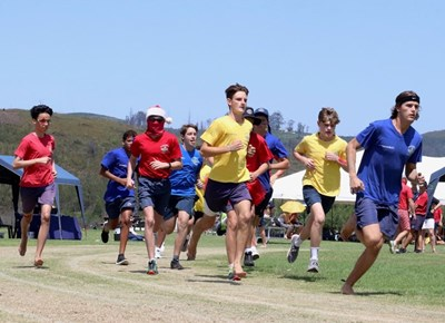 Oakhill College's colourful inter-house