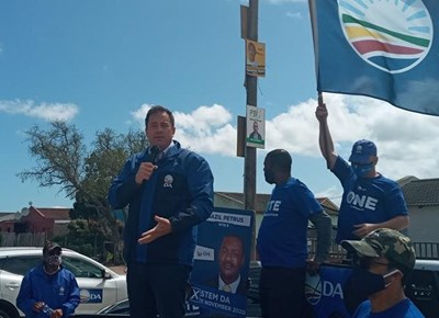 John Steenhuisen comes to town