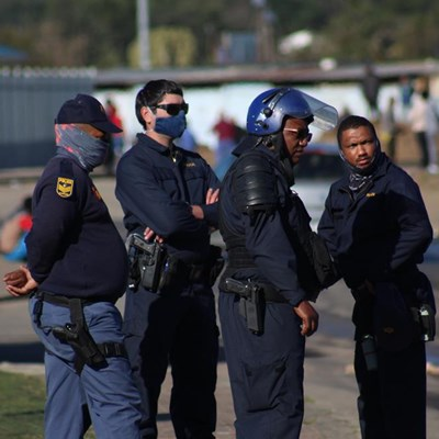 Power gripes spark protest