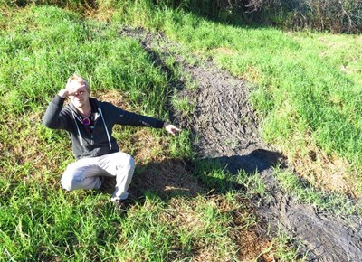 Sewage nightmare for family