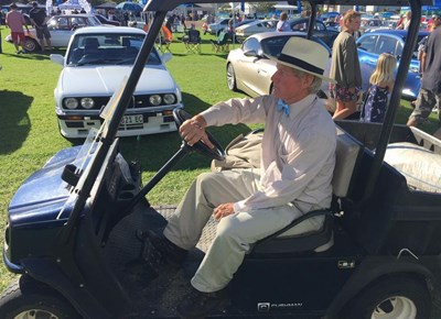 Classic cars at the Knysna Motor show