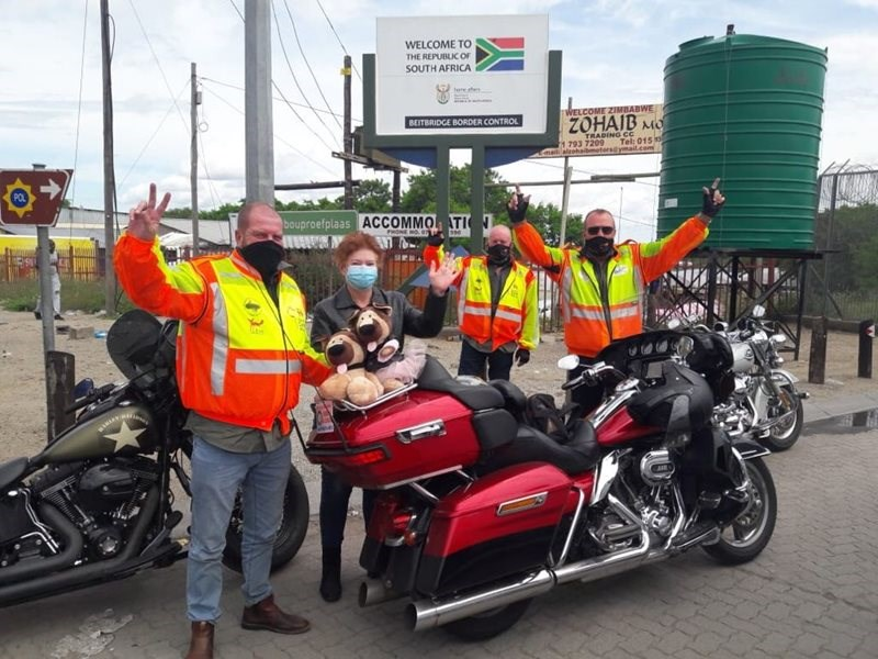 Ride for a child's medical care