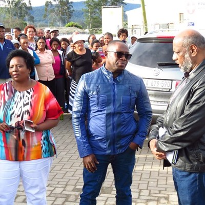 Minister addresses Rheenendal protesters