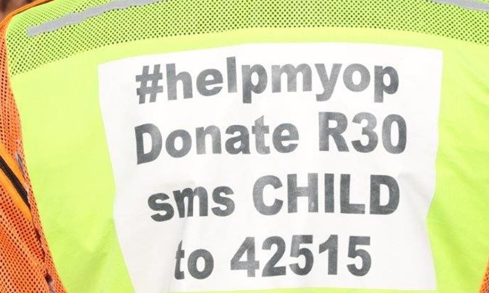 Ride for a child in the Garden Route