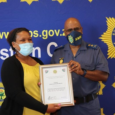 Sexual offences detective lauded
