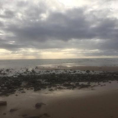 Riool op strand opgeruim