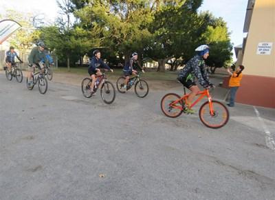 Hoërskool Outeniqua fietstoer